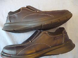"MEN`S CLARKS ""COTRELL STEP"" SLIP-ON LOAFERS"