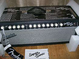 NEW NOS Fender Super Sonic Twin Head 100 Watts switchable to 25 watts Amplifier