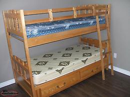 SOLID BIRCH BUNKBED