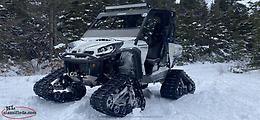 2013 CAN AM COMMANDER 1000 LIMITED/WITH COMMANDER WSS4 TRACKS