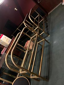 Solid Brass Railing