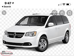 Wanted a van or 7 passenger suv