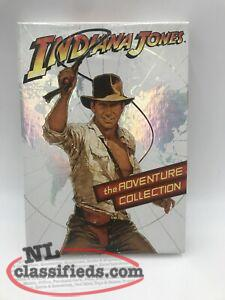 Indiana Jones The Adventure Collection (3-DVD SET) starring Harrison Ford