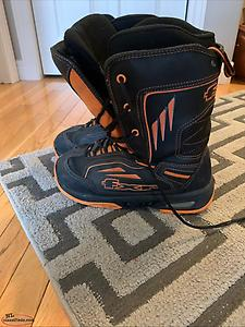 FXR Octane boots - Size 10