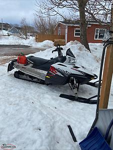 09 polaris switchback dragon 800