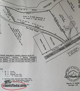 1.06 Acres of land