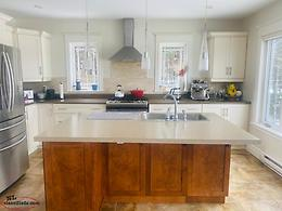 Kitchen cabinets, countertops and Island for sale-To be removed by purchaser