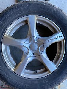 "Set of 4 17"" Touren Rims"