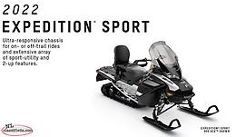 2022 Ski Doo Expedition Sport 900 ACE JUST ARRIVED EARLY INTRO