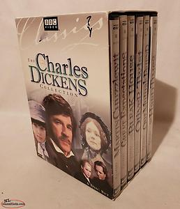 Charles Dickens Collection (DVD, 2009, 6-Disc Set, Collectors Edition). Excellen