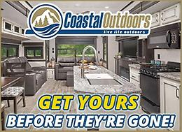 Get your Jayco RV before they're gone at Coastal Outdoors!