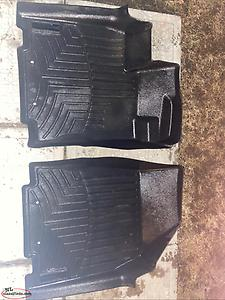 For Sale : Front Set of Weather Tech Floor Mats for a 2015 Nissan Pathfinder
