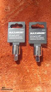 "Mastercraft 1/2"" To 3/8"" Drive Adapter"