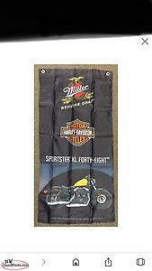Wanted Harley flags that came in Miller beer