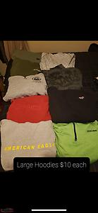 Assorted men's clothing size medium and large