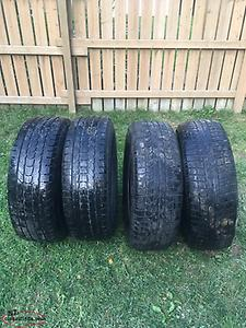 Tires and Rims 265/70/17's