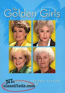 The Golden Girls Complete Second Season DVD BOX SET (NEW SEALED)