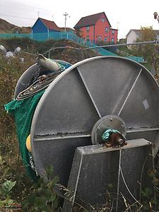 Aluminum drum with beam trawl for sale