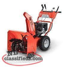 "SPRING CLEARANCE 24"" SNOW BLOWER"