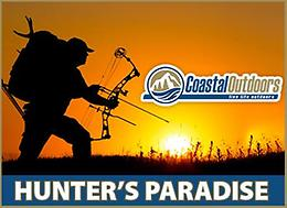 Everything for Bear hunting is at Coastal Outdoors! It's a Hunter's Paradise!