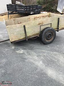 Steel woods cart