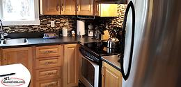 For sale black kitchen countertop