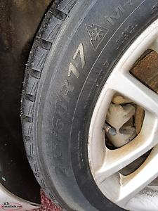 LOOKING FOR A TIRE AND RIM TO FIT A 2015 CHEVROLET MALIBU