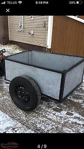 Newly constructed trailer