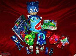 PJ Masks Toys Lot Figures, Books, Vehicles, etc