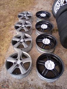 15 Inch Aftermarket Alloy Rims (4 Bolt)