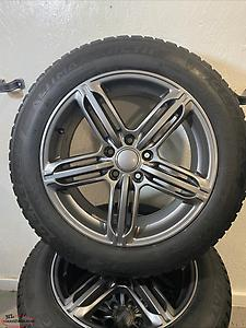 "17"" tires on rims for sale!"