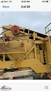 Wanted older jaw crusher