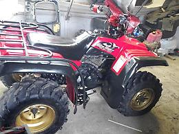 sold 1999 yamaha big bear speical edition 350