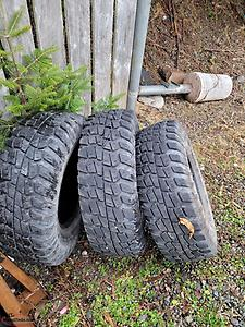 "15"" Trail Cutter tires 31x10.5"