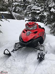 Windshield bag off 2007 Polaris dragon