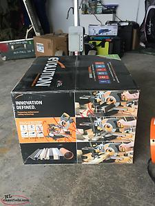 "Evolution 10"" sliding multi purpose mitre saw"
