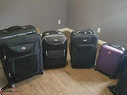 Different size suitcases