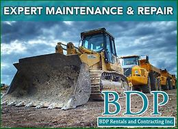 SPRING SPECIAL! Get your Heavy Equipment ready for spring work!