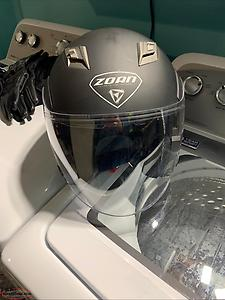 Zoan medium motorcycle helmet. 40