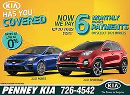PENNEY KIA has you covered