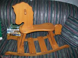Wooden Rocking Horse in excellent condition.