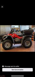 Wanted Honda fourtrax