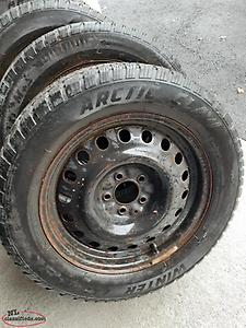 4 tires and rims 235/55/17
