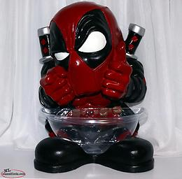 "Marvel 14"" Deadpool Candy Bowl"