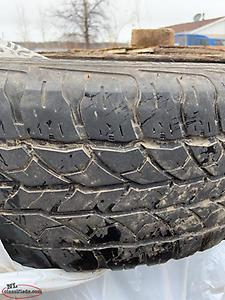 All Season tires 225/70R 16