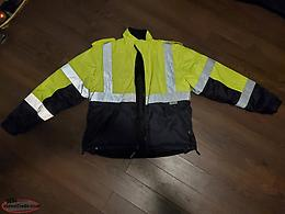 Opus 6 in 1 Class 2 Level 2 hi vis jacket