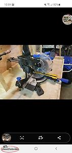 mastercraft mitre saw * trades welcome*