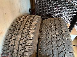 Winter tires 245X65 R17