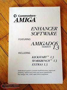 Commodore AMIGA Amigados owners manual Version 1.3 From 1980's