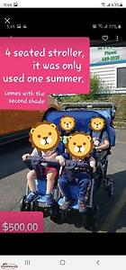 4 seated stroller